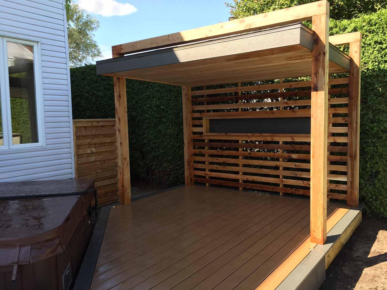 gazebo de spa pur patio. Black Bedroom Furniture Sets. Home Design Ideas