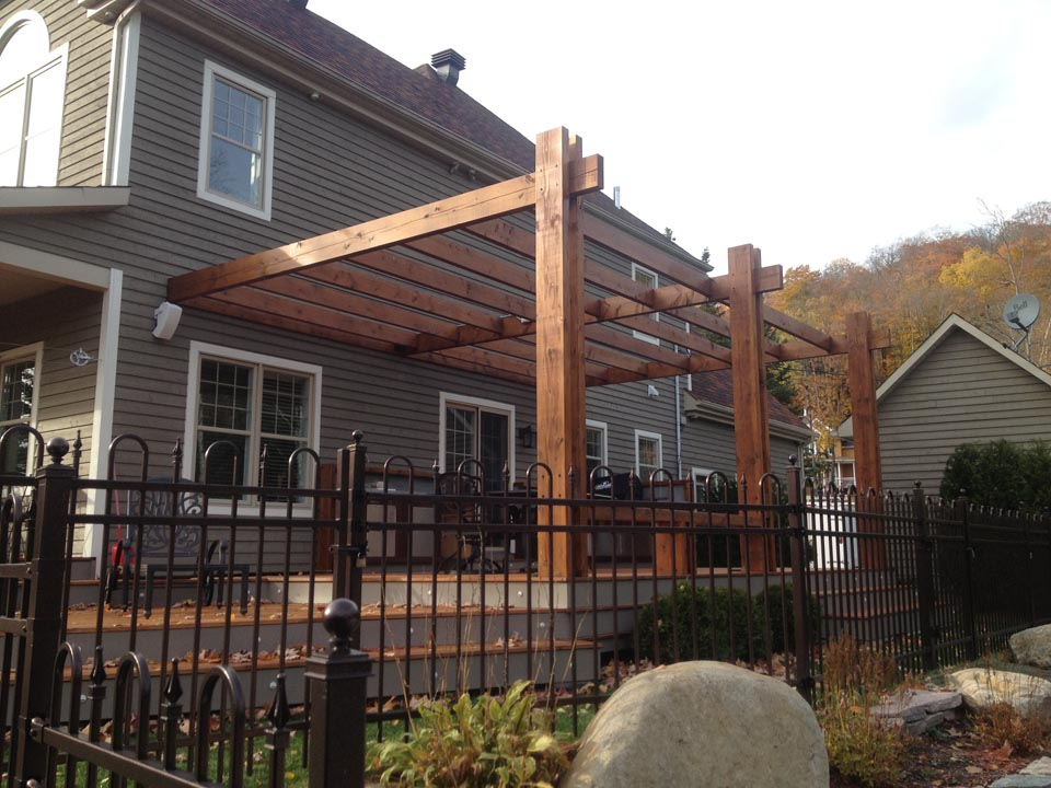 Pergola Et Patio Morin Heights Pur Patio