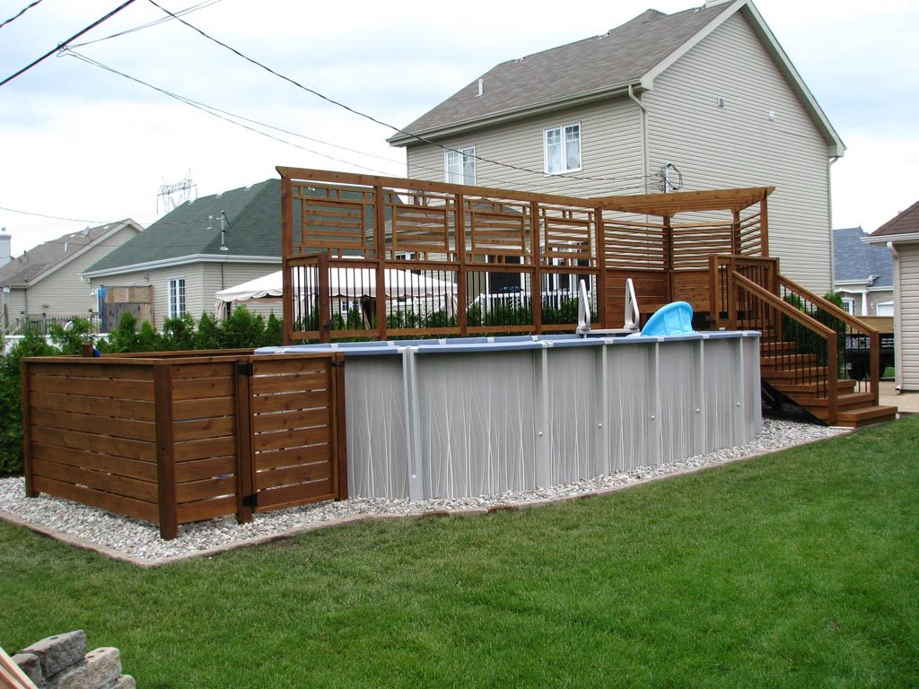 Populaire deck de piscine yu71 montrealeast for Dessiner plan patio
