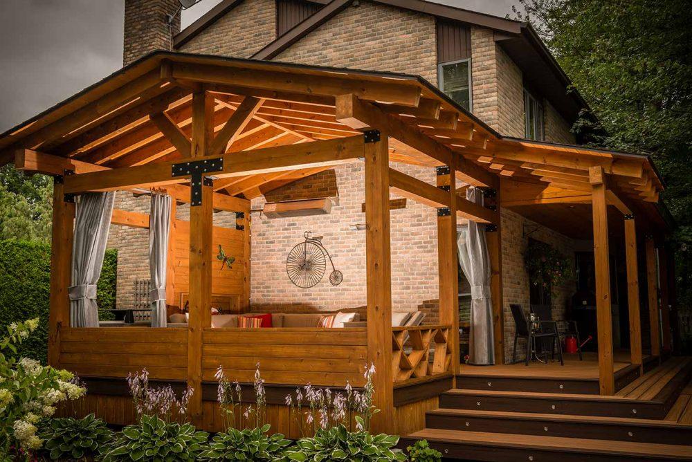 veranda patio