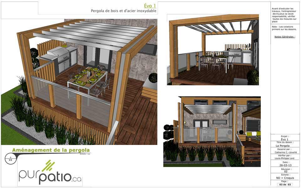 Bon Purevo Deck Concept. Deck Plan