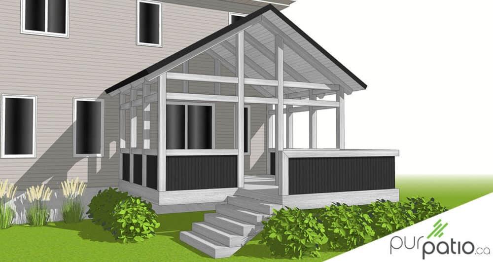 veranda timberframe ste-therese