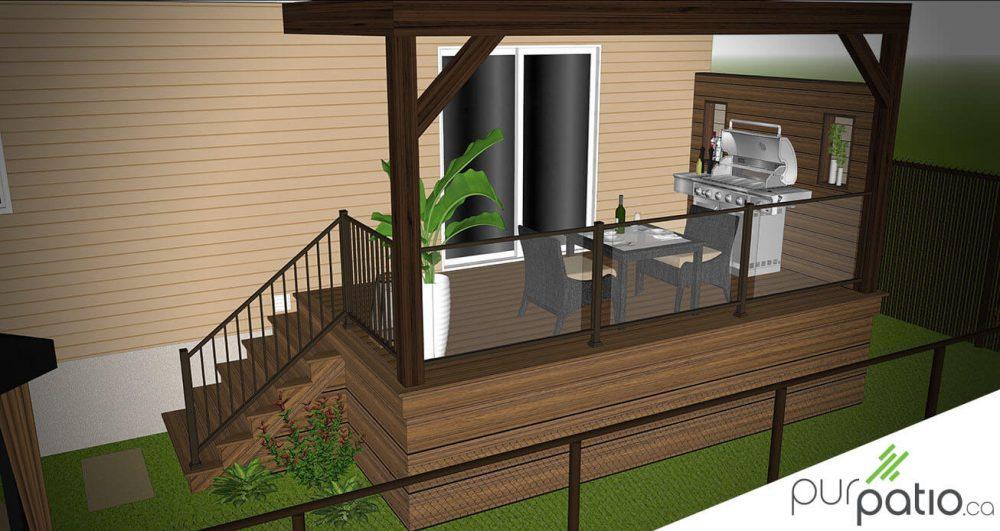 patio composite trex