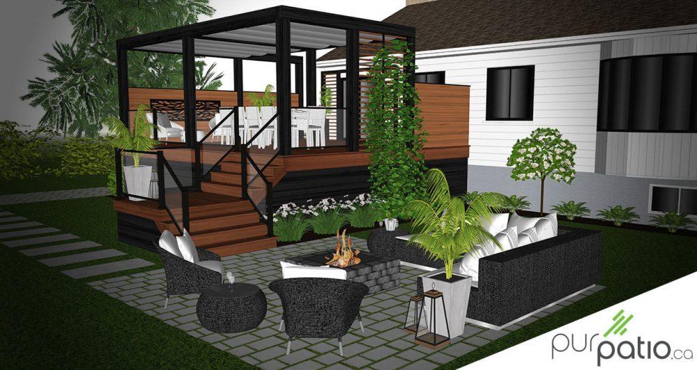 patio bois ipé