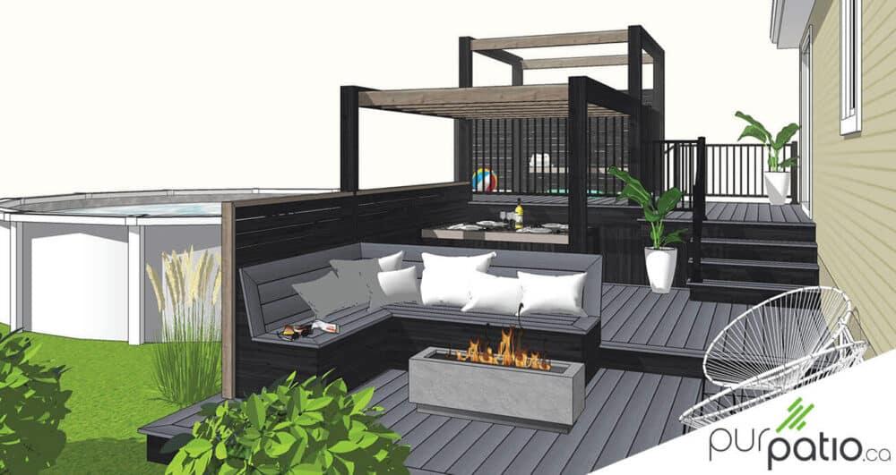 patio composite st-jerome