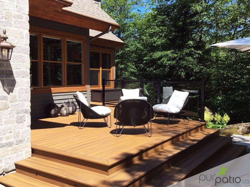 rénovation patio composite
