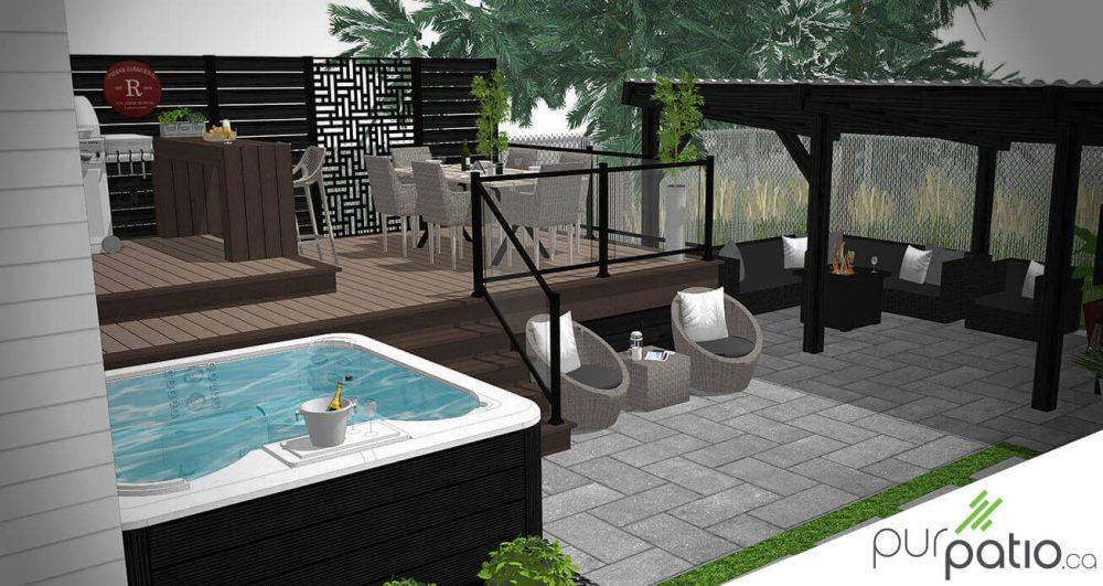 patio TimberTech