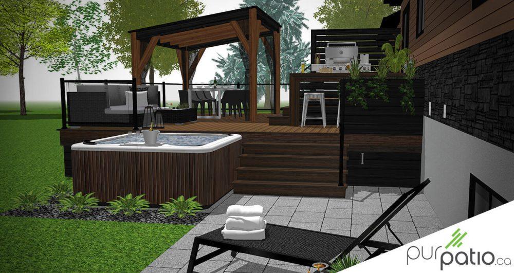 patio Trex