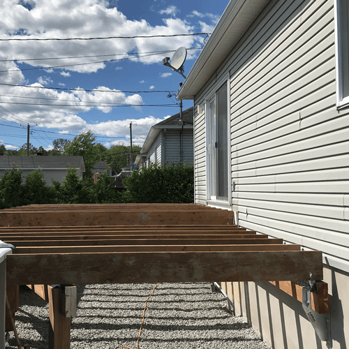 Nami Fixation patio support ancrage