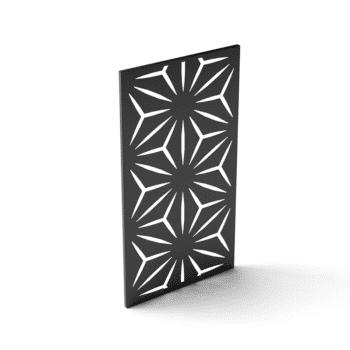 écran intimité noir