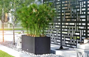 Mur intimité métal Blocks