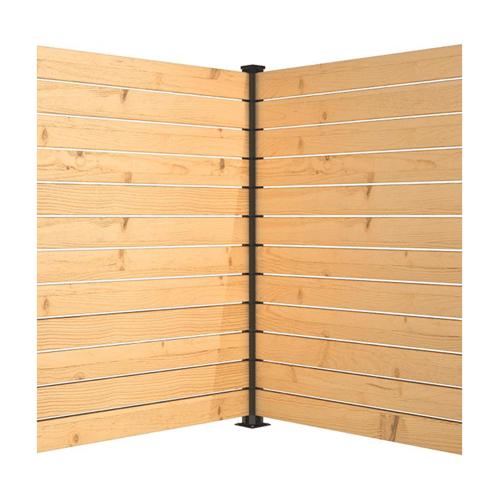 Panneau intimite balcon hoft solutions poteau de fin kit B6