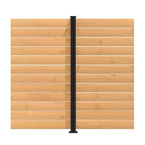 Panneau intimité balcon hoft solutions poteau de ligne kit C6