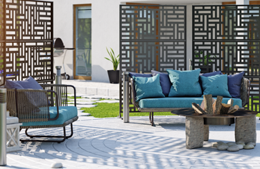 Panneau intimité terrasse Blocks 2