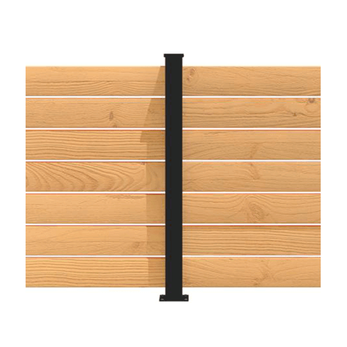 Panneau intimité balcon poteau ligne aluminium Hoft Solutions