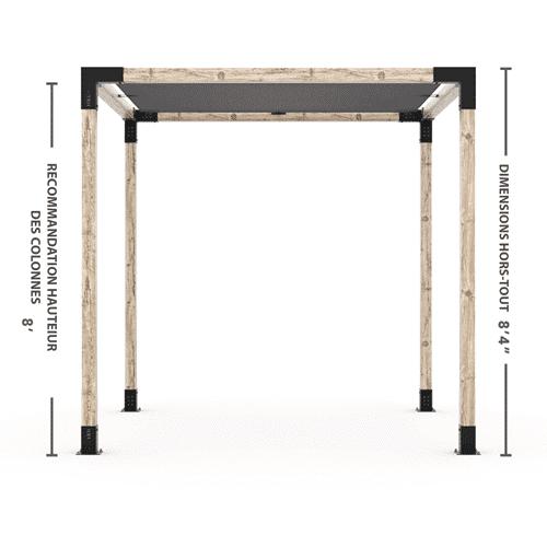 Kit pergola 4x4 hauteur