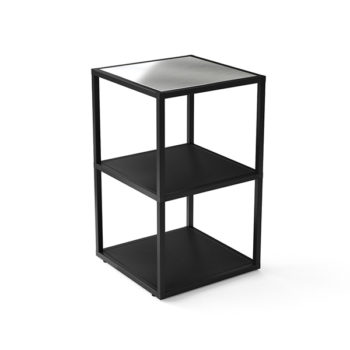 small square bar counter