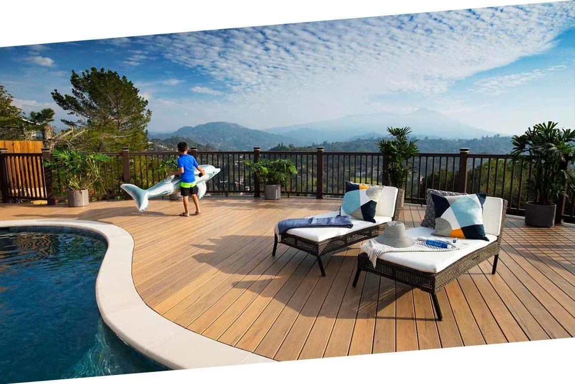 TimberTech Pro patio