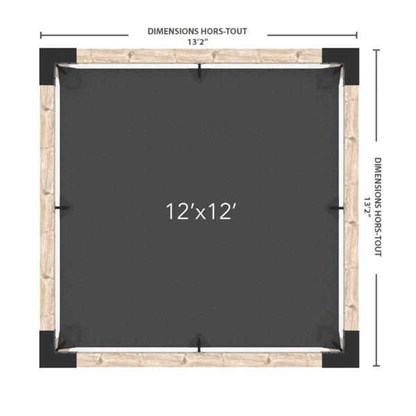 pergola autoportante 12x12