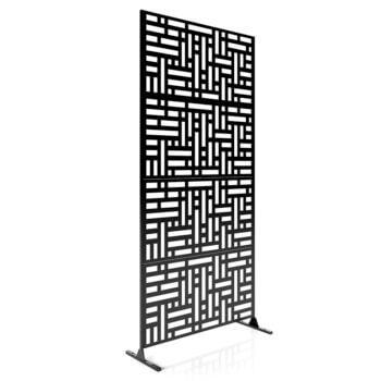 4 panels blocks black