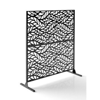 flowleaf 2 panels black