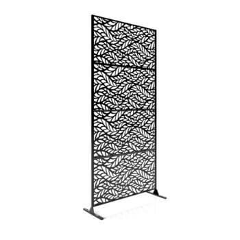 flowleaf 4 panels black