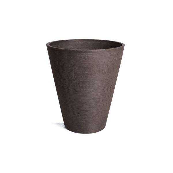 jardinière conique espresso
