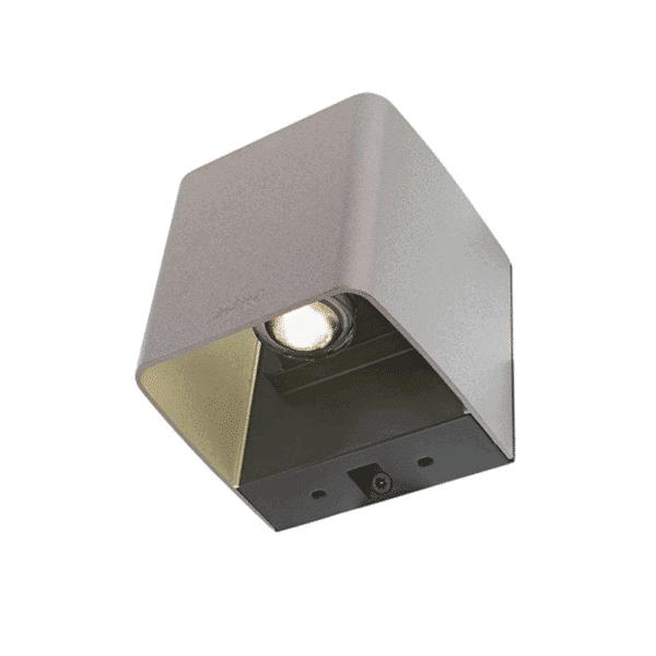 éclairage extérieur ace up-down 100-230V argent