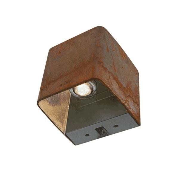éclairage extérieur ace up-down 100-230V corten
