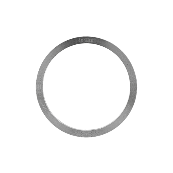 éclairage extérieur anneau finition ring 80