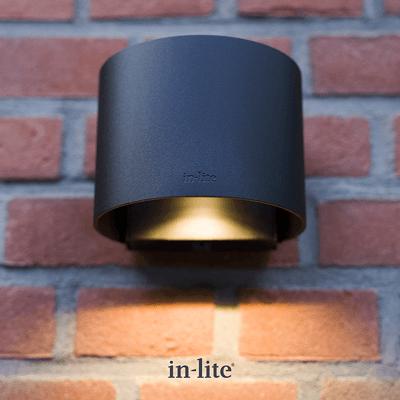 éclairage extérieur halo down dark 100-230v lifestyle
