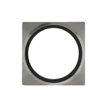 éclairage extérieur plaque recouvrement plate 75