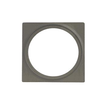 éclairage extérieur plate 1 gris