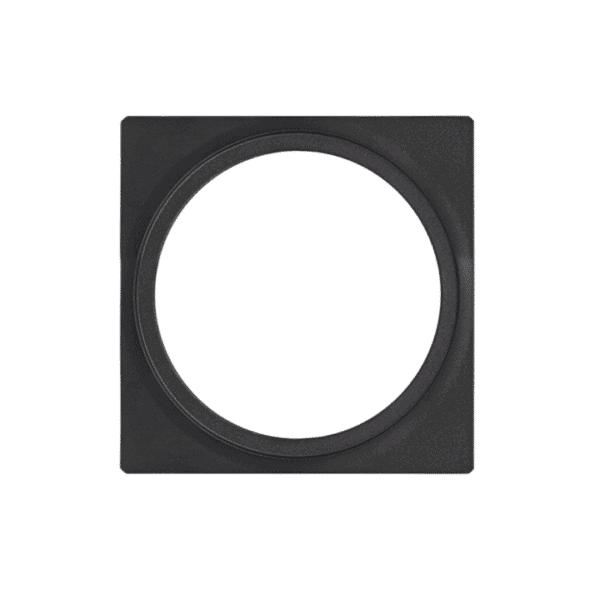 éclairage extérieur plate 1 noir