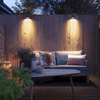 outdoor lighting wedge lifestyle