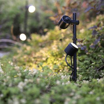 lifestyle éclairage exterieur mini scope duo