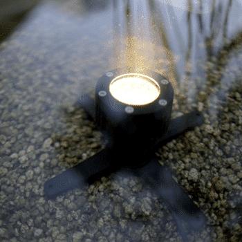 lifestyle éclairage extérieur submersible