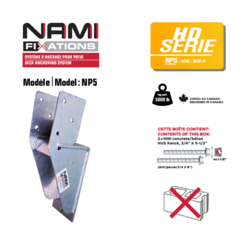 nami fixations np5 bracket