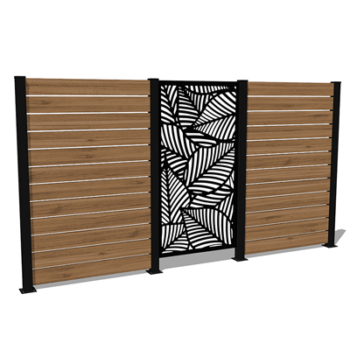 maui privacy wall kit
