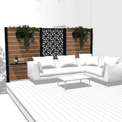 ensemble mur intimite hideaway moderna lifestyle