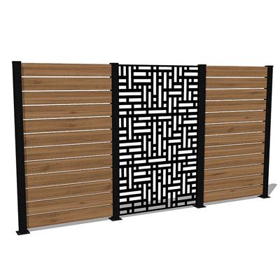 blocks privacy wall kit
