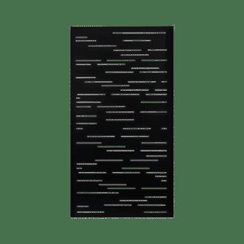 panneau intimite dash noir