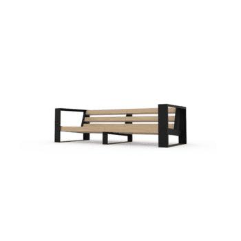 sofa de patio muskoka